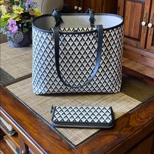 Vince Camino Leila large tote & matching wallet